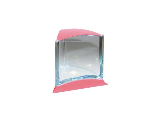 Stylish Display Case w/LED light (Pink)