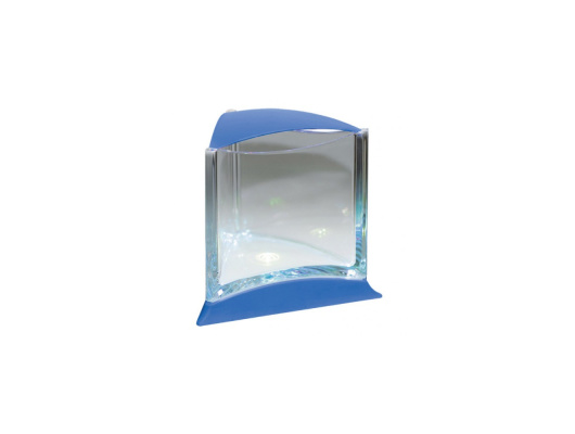 Stylish Display Case w/LED light (Blue)