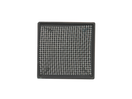 Square shaped – size: 2.75 x 2.75 in