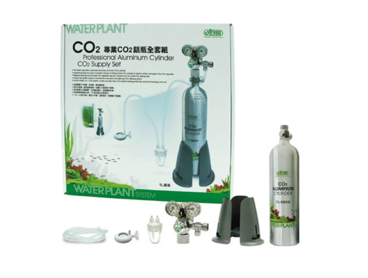 CO2 Aluminum Cylinder Supply Set / 1L – Professional