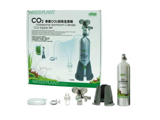 CO2 Aluminum Cylinder Supply Set / 1L – Professional